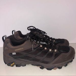 Merrell Leather Performance Hiking Shoes, Size 11